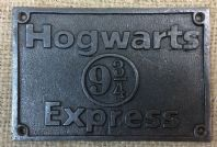 Harry Potter Hogwarts Express Plaque